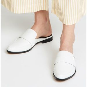 REBECCA MINKOFF | Leather Loafer Mules